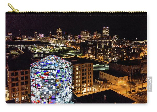 Water Tower Skyline Carry-all Pouch