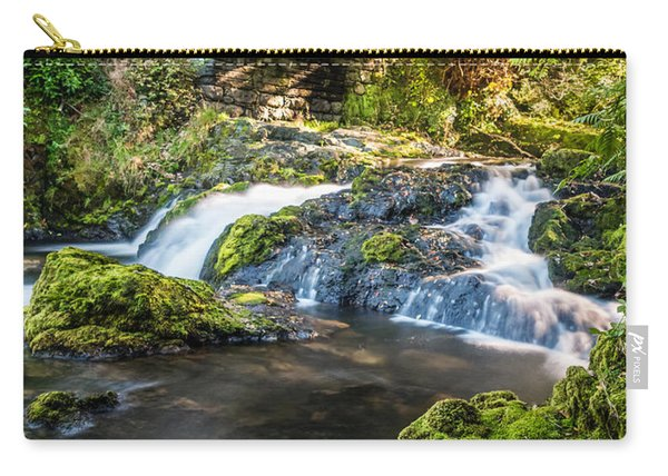 Carry-all Pouch featuring the photograph Water Under The Bridge by Nick Bywater