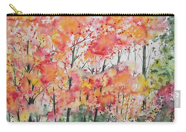 Watercolor - Autumn Forest Carry-all Pouch