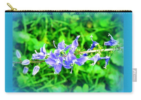 Watercolor Blooms Carry-all Pouch
