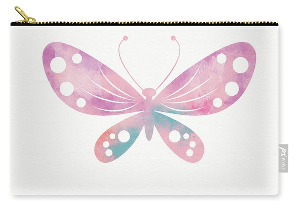 Watercolor Butterfly 1- Art By Linda Woods Carry-all Pouch