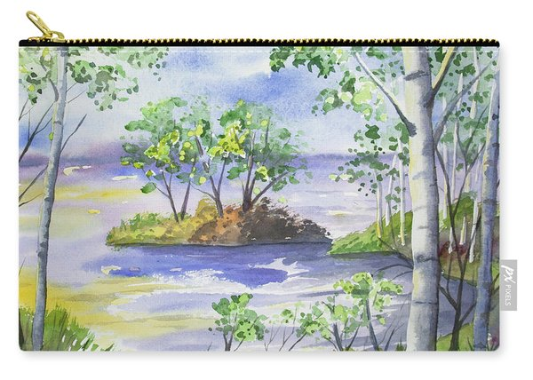 Watercolor - Minnesota North Shore Landscape Carry-all Pouch