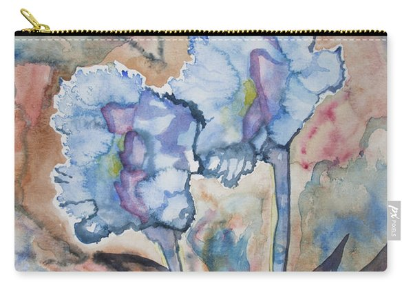Watercolor - Orchid Impression Carry-all Pouch