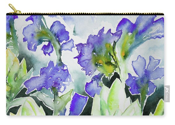 Watercolor - Rocky Mountain Wildflowers Carry-all Pouch