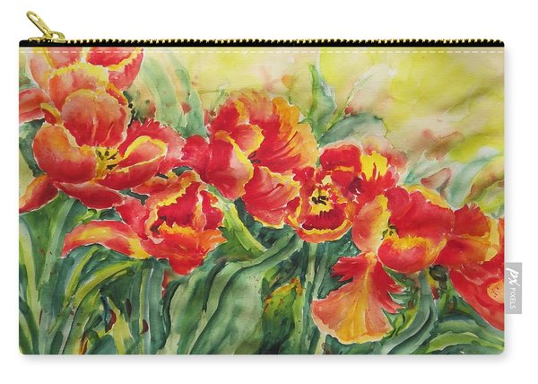 Watercolor Series No. 241 Carry-all Pouch