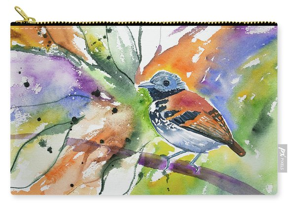 Watercolor - Spotted Antbird Carry-all Pouch