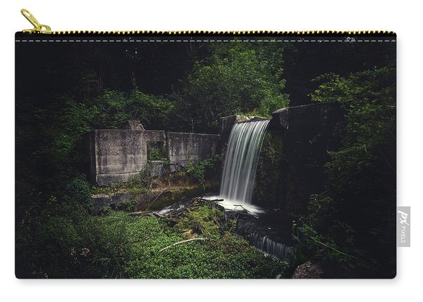 Waterfall At Paradise Springs Carry-all Pouch