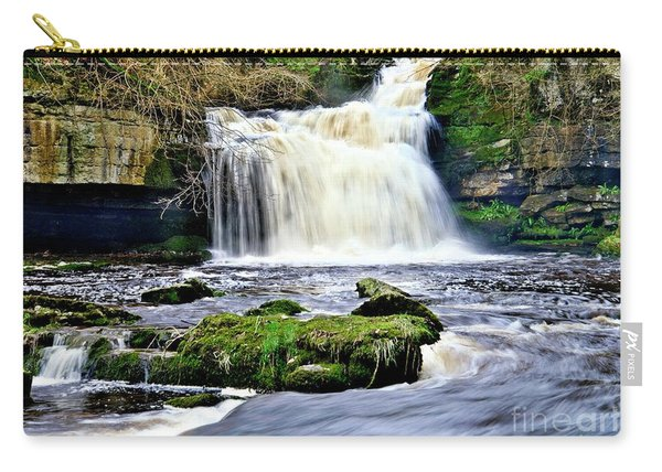 Waterfall At West Burton, Yorkshire Dales Carry-all Pouch