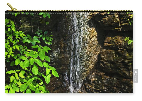Waterfall In Forest Carry-all Pouch