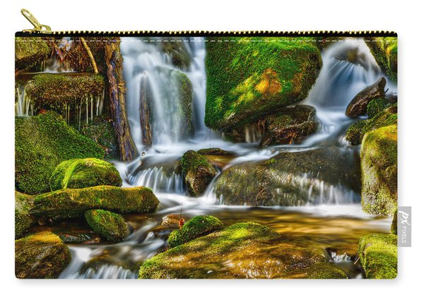 Waterfall In Hd Carry-all Pouch