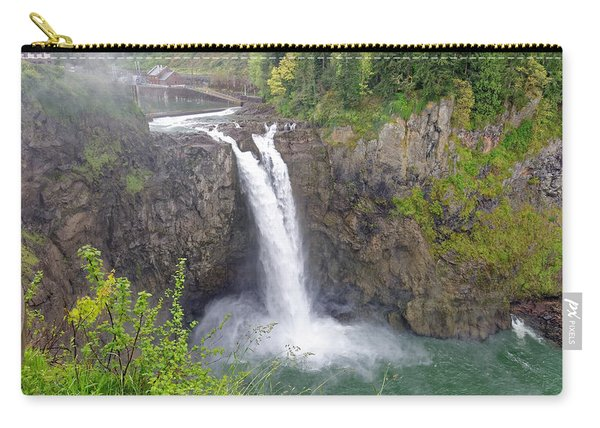 Waterfall Through The Mist Carry-all Pouch