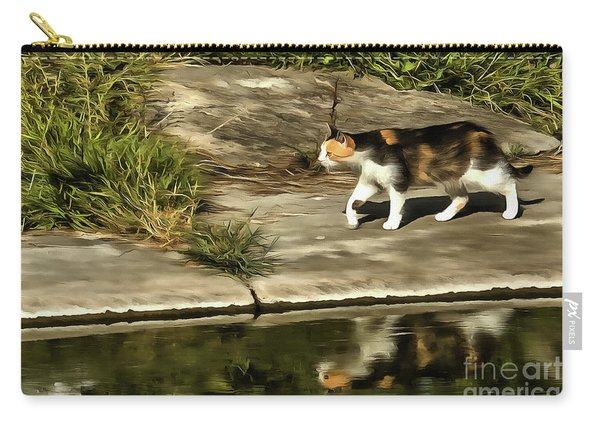 Waterfront Walking Kitten Carry-all Pouch