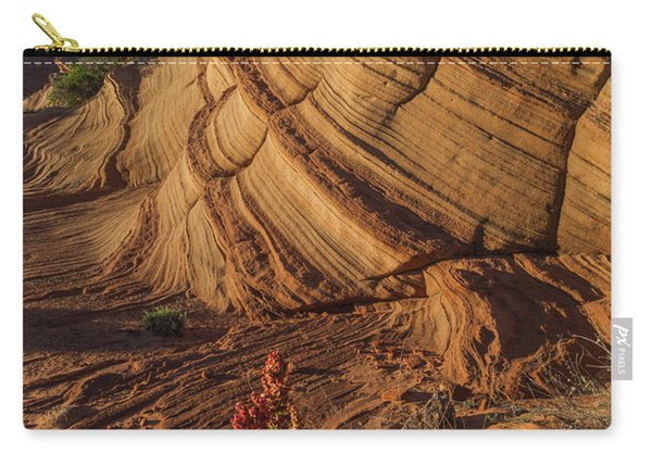 Waterhole Canyon Evening Solitude Carry-all Pouch