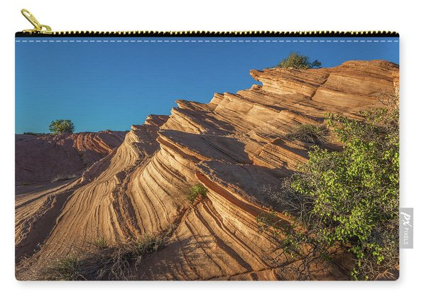 Waterhole Canyon Rock Formation Carry-all Pouch