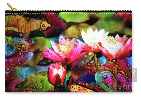 Waterlilies 13 Carry-all Pouch