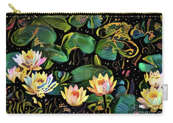 Waterlilies 2 Carry-all Pouch