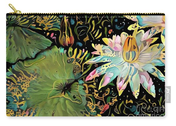 Waterlilies 5 Carry-all Pouch