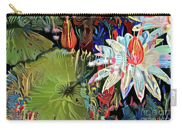 Waterlilies 9 Carry-all Pouch