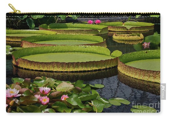 Waterlilies North And South Carry-all Pouch