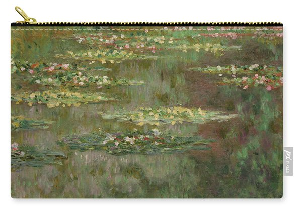 Waterlilies Or The Water Lily Pond Carry-all Pouch