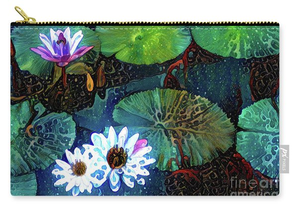 Waterlillies 15 Carry-all Pouch