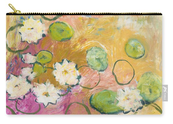 Waterlillies At Dusk Carry-all Pouch