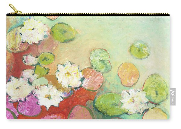 Waterlillies At Dusk No 2 Carry-all Pouch