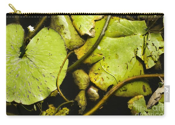 Waterlilly Plants Carry-all Pouch