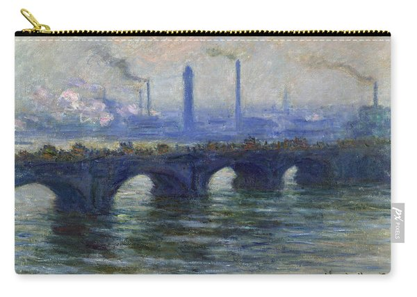 Waterloo Bridge, London, 1900 Carry-all Pouch