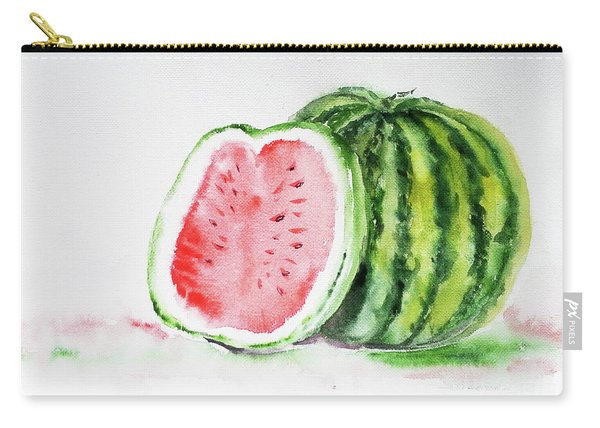 Watermelon And A Half Carry-all Pouch