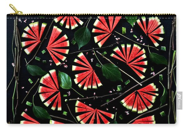Watermelon Fans Carry-all Pouch