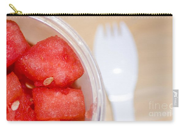 Watermelon Slices Served Horizontal Carry-all Pouch