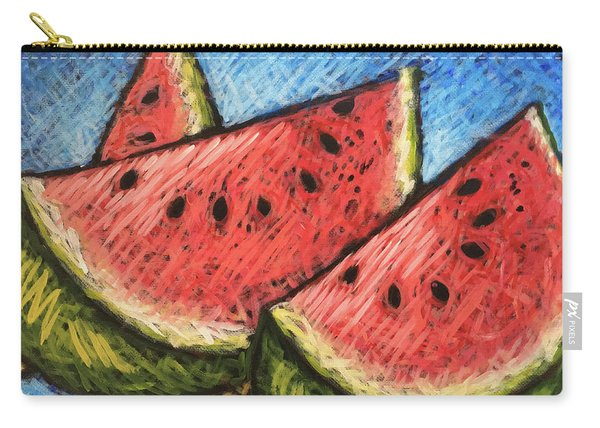 Watermelon Summer Carry-all Pouch