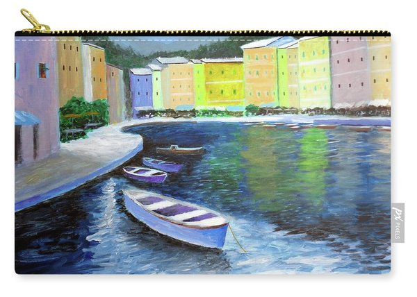Waters Of Portofino  Carry-all Pouch
