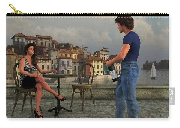 Waterside Wine Bar Carry-all Pouch