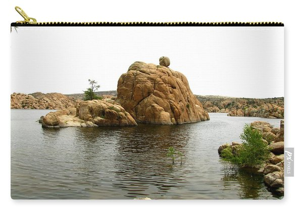 Watson Lake Balancing Rock Carry-all Pouch