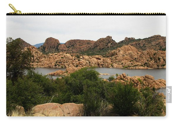 Watson Lake Rocks Carry-all Pouch