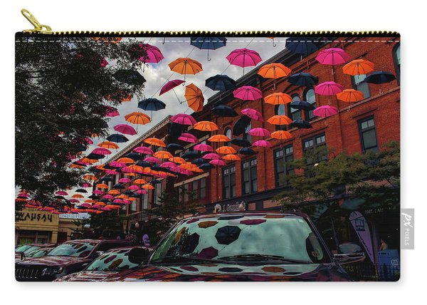 Wausau's Downtown Umbrellas Carry-all Pouch