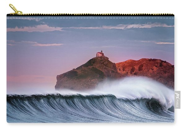 Wave In Bakio Carry-all Pouch