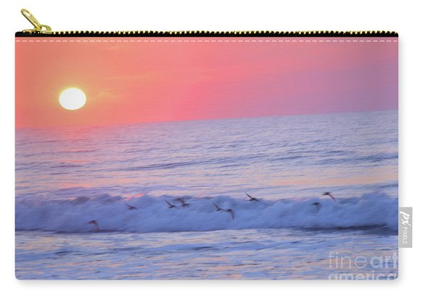 Wave Of Gratitude Nature Art Carry-all Pouch