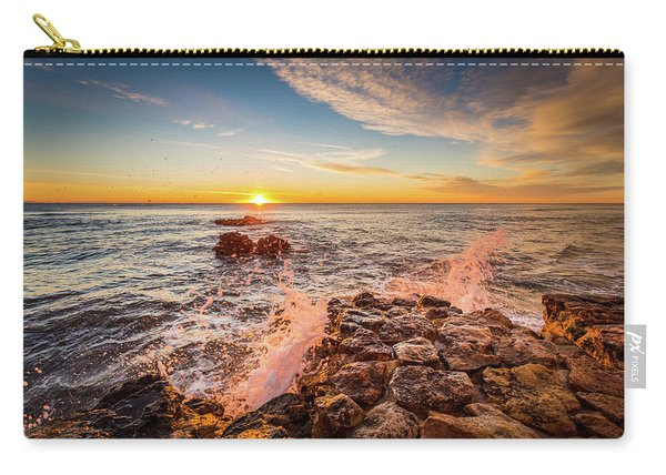 Wave Splashes Carry-all Pouch