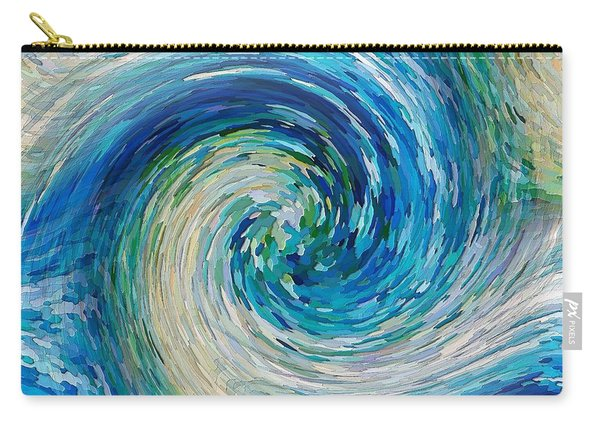 Wave To Van Gogh II Carry-all Pouch
