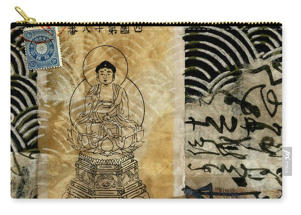Shikoku Waves And Mountain Carry-all Pouch