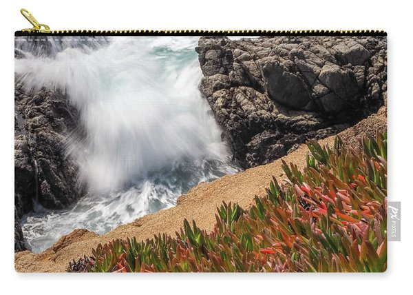 Waves And Rocks At Soberanes Point, California 30296 Carry-all Pouch