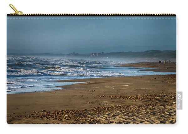 Waves At Donoratico Beach - Spiaggia Di Donoratico Carry-all Pouch
