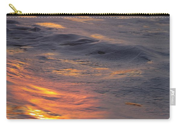 Waves Dawn Reflections Carry-all Pouch