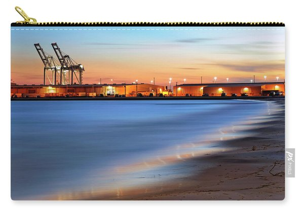 Waves Of Industry - Gulfport Mississippi - Sunset Carry-all Pouch