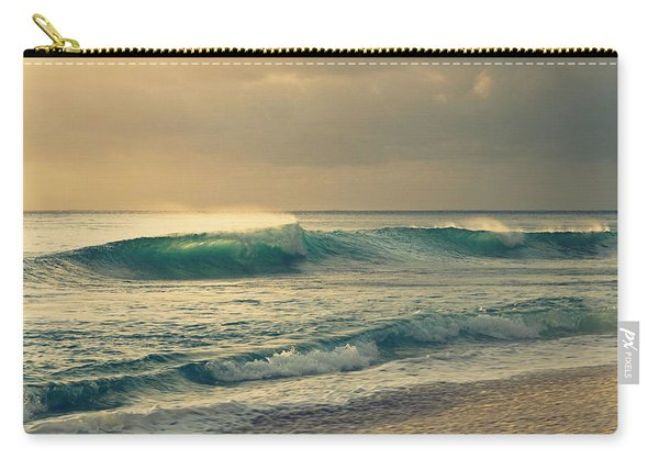 Waves Of Light - Hipster Photo Square Carry-all Pouch