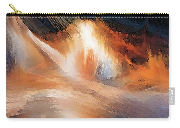 Waves Of Light Carry-all Pouch