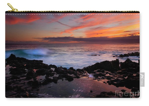 Waves Of Paradise Carry-all Pouch